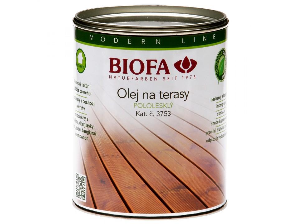 Hlavní obrázek produktu 3753 Olej na terasy (Velikost balení: 1 ltr)