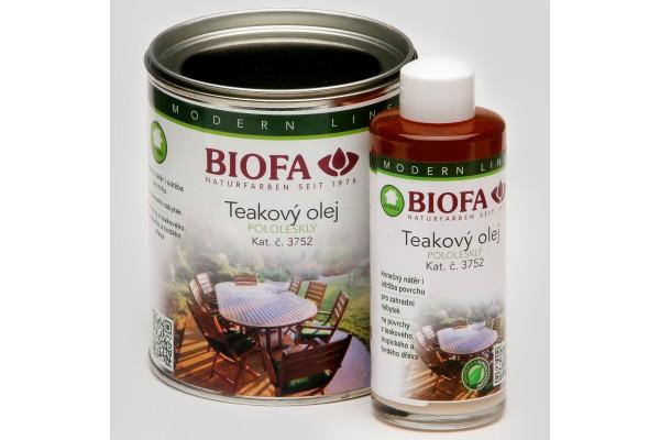 Obrázek 1 produktu 3752 Teakový olej (Velikost balení: 150 ml)