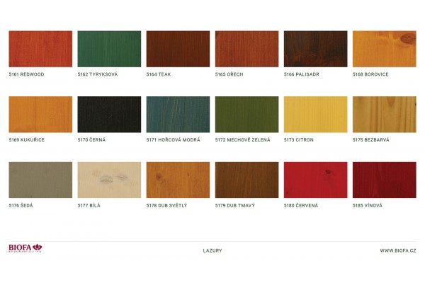 Obrázek 2 produktu 51xx Lazura na dřevo  (Odstín: 75 bezbarvá - skladem, Velikost balení: 1 ltr)