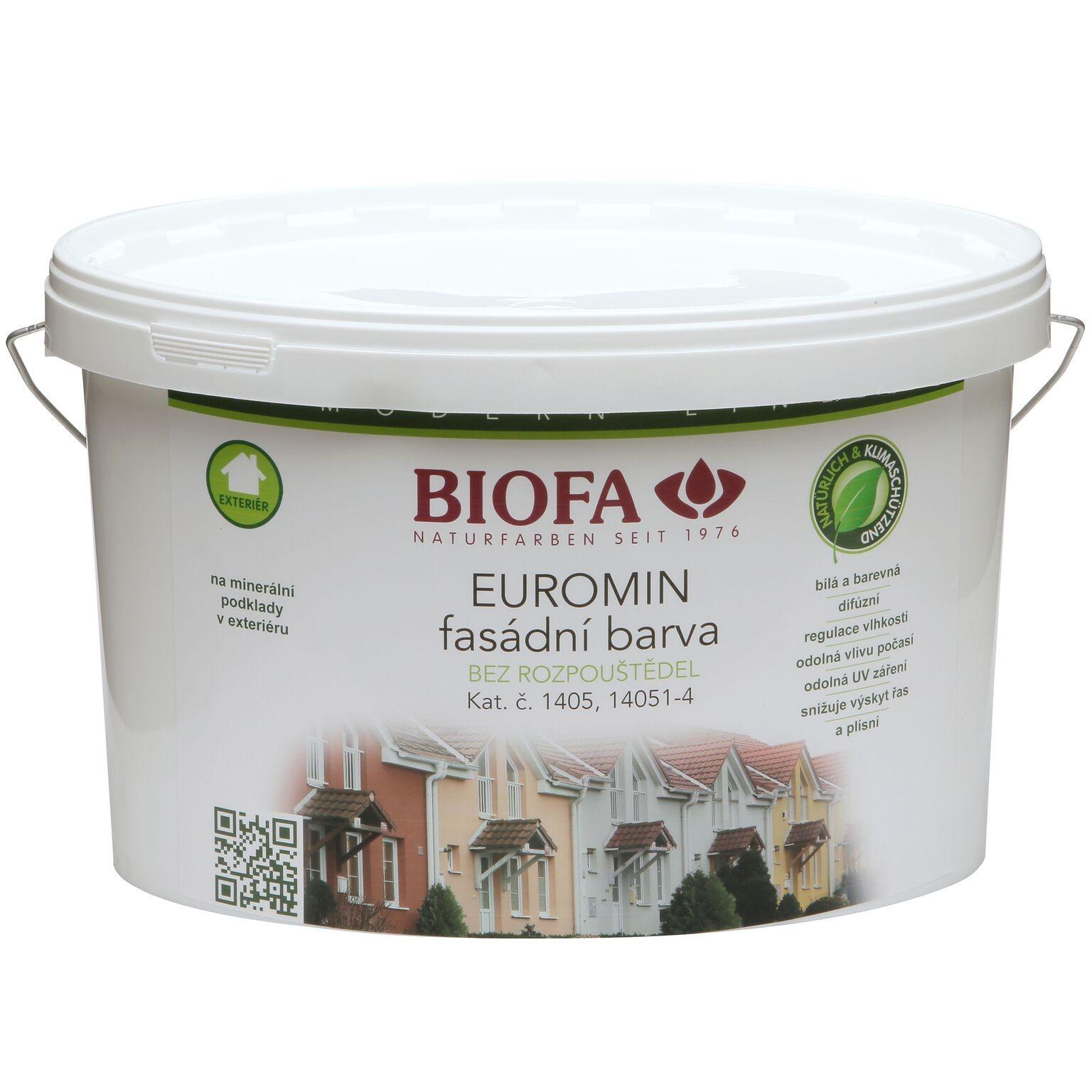 Hlavní obrázek produktu 1405 Euromin fasádní barva (Odstín  bílá) e54005f48a