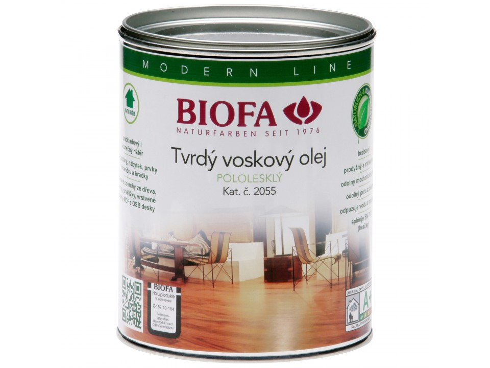 Hlavní obrázek produktu 2055 Tvrdý voskový olej (Velikost balení: 1 ltr)