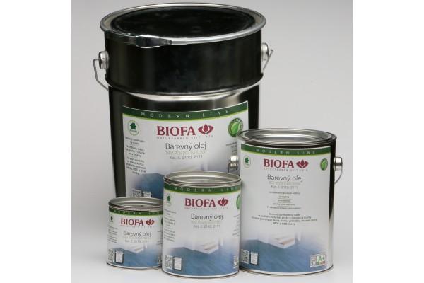 Obrázek 1 produktu 2110, 2111 Barevný olej  (Odstín: 2110-03 bílá, Velikost balení: 375 ml)